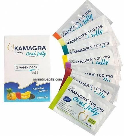 KAMAGRA ORAL JELLY 100 MG WEEK PACK