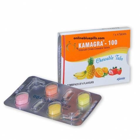 KAMAGRA CHEWABLE 100 MG