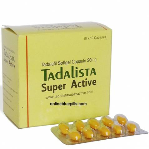 TADALAFIL-SUPER-ACTIVE 20 MG